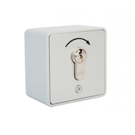 Contacteur à clés avec barillet - 1 sens à impulsion