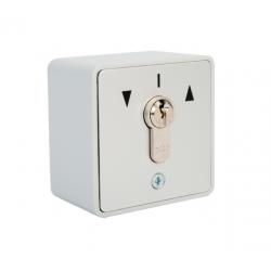 Contacteur à clés avec barillet - 2 sens à impulsion
